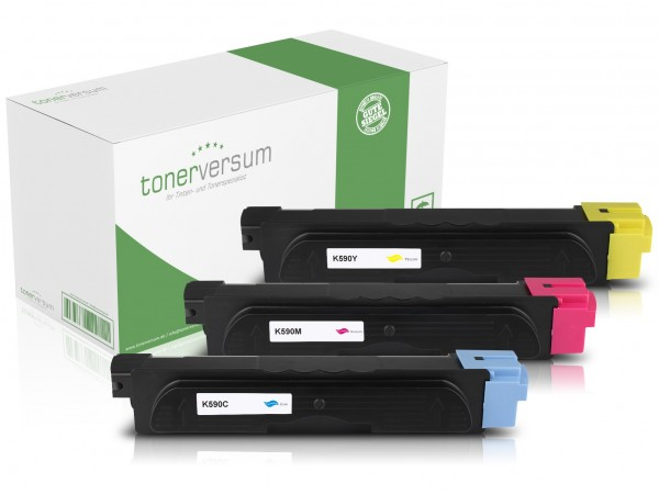 Alternativ zu Kyocera TK-590 Toner Multipack CMY (3er Set)