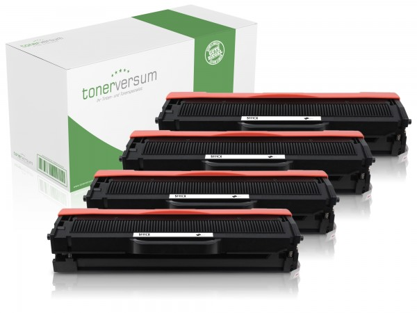 Alternativ zu Samsung MLT-D111L / SU799A Toner Black (4er Pack)