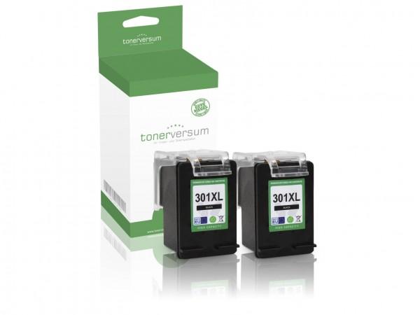 Alternativ zu HP 301 XL / D8J45AE Tinte Black (2er Pack)