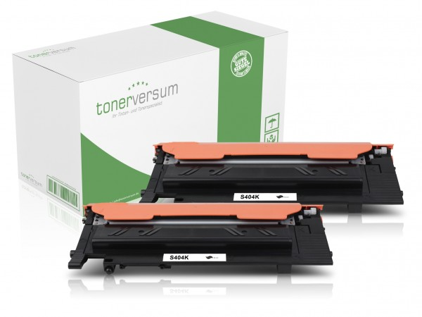 Alternativ zu Samsung CLT-K404S Toner Black (2er Pack)