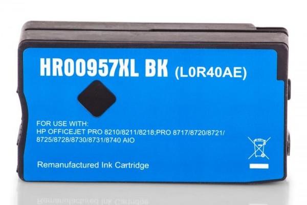 Alternativ zu HP 957 XL / L0R40AE Tinte Black