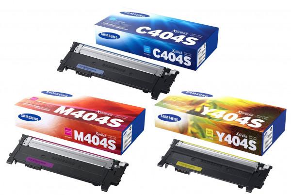 Samsung CLT-P404C / SU365A Toner Multipack CMY (3er Set)