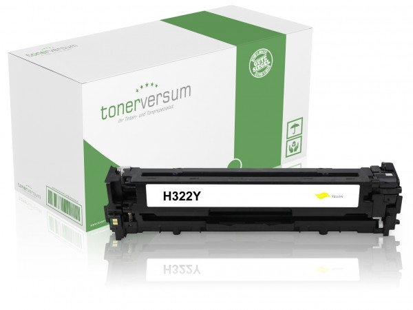 Alternativ zu HP CE322A / 128A Toner Yellow