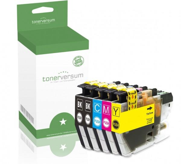 Alternativ zu Brother LC-3213 Tinten Multipack CMYK (5er Set)
