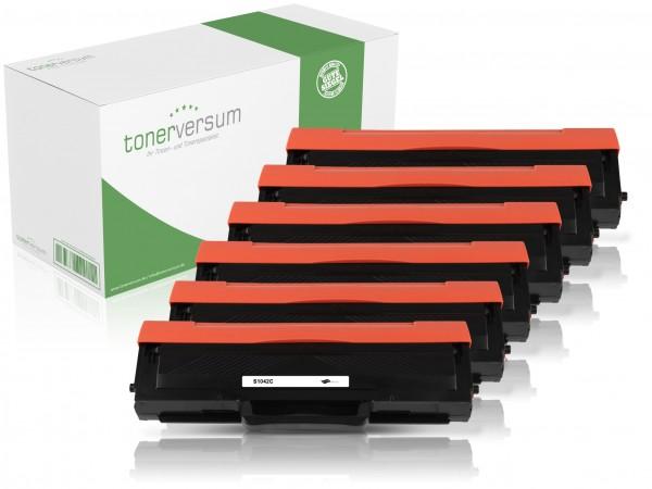 Alternativ zu Samsung MLT-D1042S (SU737A) Toner Black (6er Pack)