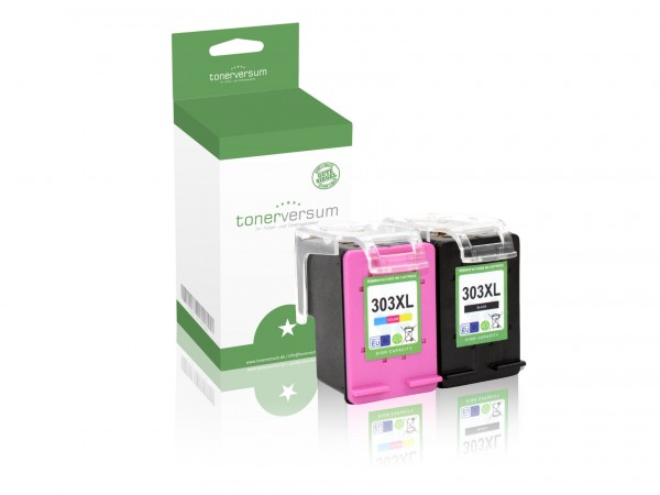 Alternativ zu HP 303 XL / 3YN10AE Tinten Multipack (1x Black / 1x Color)