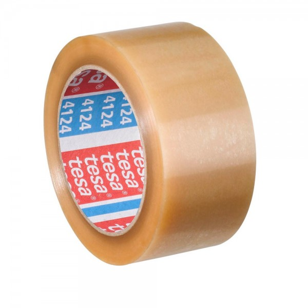 tesa Packband tesapack 4195 PP-Klebeband 50 mm x 66 m transparent (6er Pack)