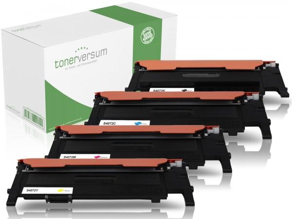 Alternativ zu Samsung CLT-P4072C / CLP-320 Toner Multipack CMYK (4er Set)