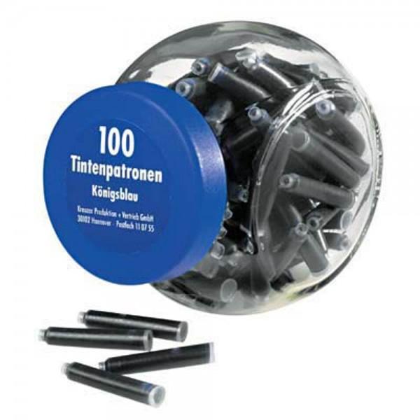 Pelikan Füllerpatronen 4001 TP/6 königsblau (100er Pack)