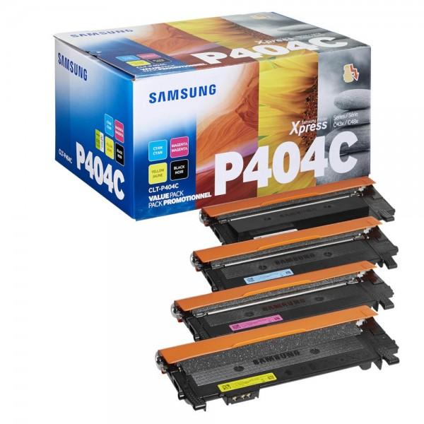 Samsung CLT-P404C / SU365A Toner Multipack CMYK (4er Set)