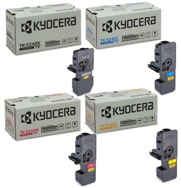 Kyocera TK-5240 Toner Multipack CMYK (4er Set)