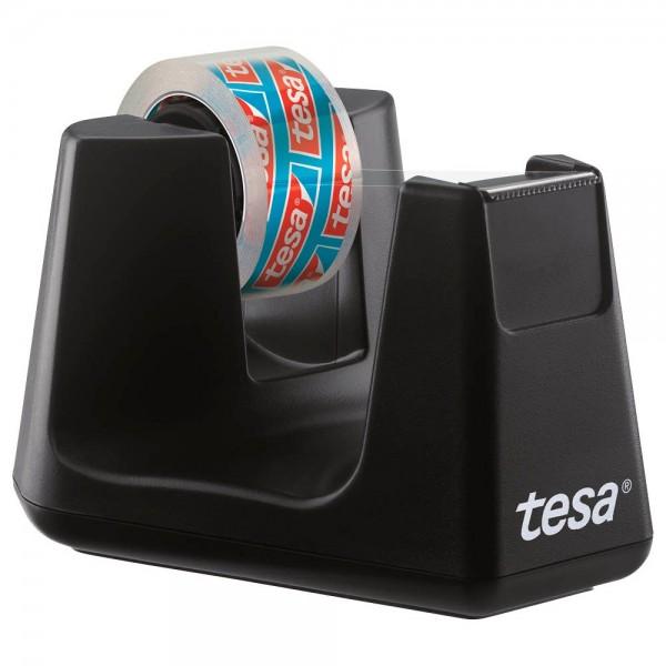 Tesa Tischabroller easy cut smart schwarz (inkl. 10 m x 15 mm tesafilm)