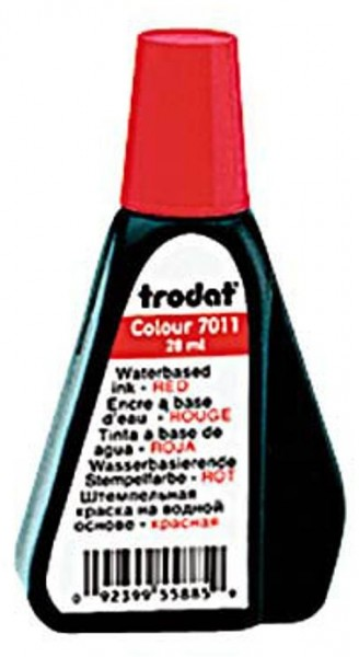 Trodat Stempelfarbe Rot 28,0 ml ohne Öl
