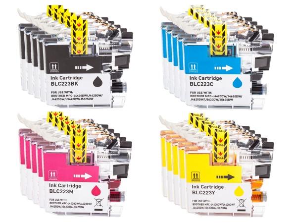 Alternativ zu Brother LC-223 XL Tinte Multipack CMYK (20er Set)
