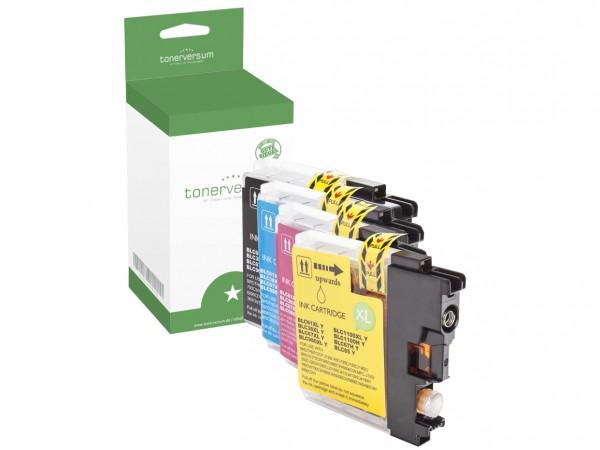 Alternativ zu Brother LC-980 Tinten Multipack CMYK (4er Set)