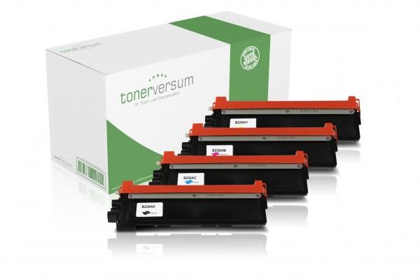 Alternativ zu Brother TN-230 Toner Multipack CMYK (4er Set)