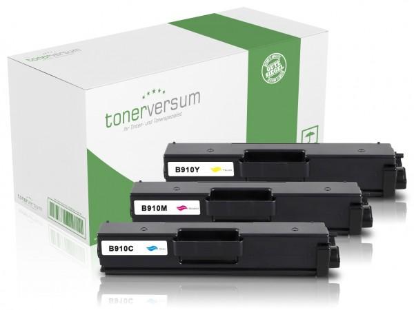 Alternativ zu Brother TN-910 Toner Multipack CMY (3er Set)