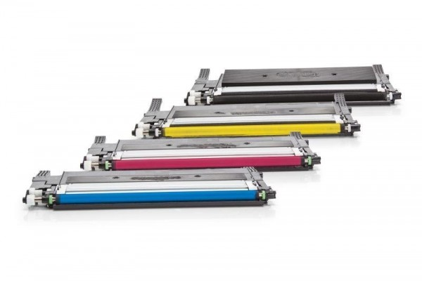 Rebuilt zu Samsung CLT-P406C / SU375A Toner Multipack CMYK (4er Set)
