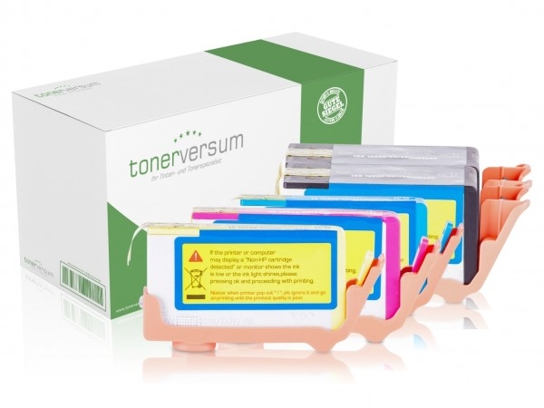 Alternativ zu HP 903 XL Tinten Multipack CMYK (5er Set)