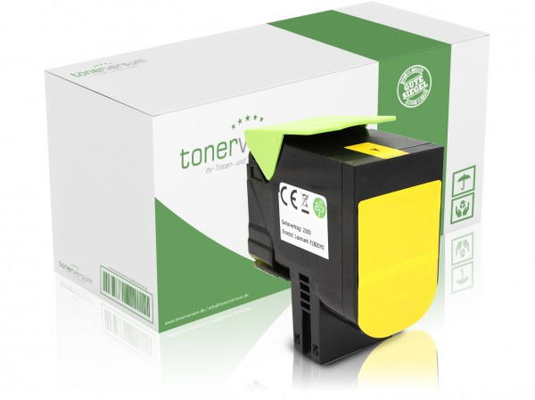 Kompatibel zu Lexmark 71B20Y0 Toner Yellow