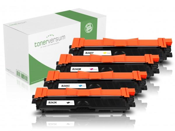 Alternativ zu Brother TN-242 / TN-246 Toner Multipack CMYK (4er Set)