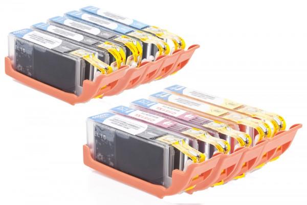 Alternativ zu Canon CLI-551 XL / PGI-550 XL Tinten Multipack CMYK (10er Set)