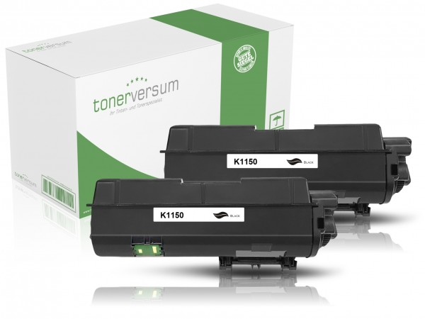 Alternativ zu Kyocera TK-1150 / 1T02RV0NL0 Toner Black (2er Pack)