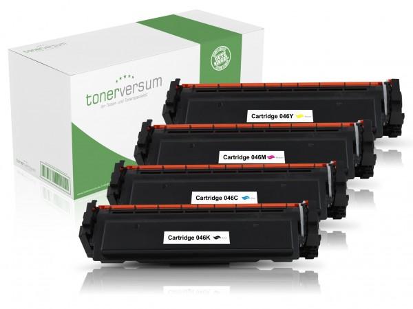 Alternativ zu Canon 046 Toner CMYK Multipack (4er Set)