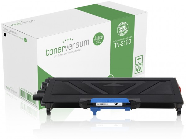 Alternativ zu Brother TN-2120 Toner Black Jumbo XXL