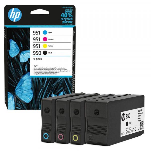 HP 950 / HP 951 / 6ZC65AE Tinten Multipack CMYK (4er Set)