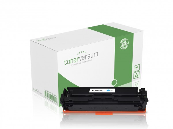Alternativ zu HP CF401X / 201X Toner Cyan