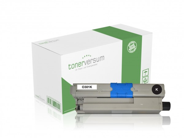 Alternativ zu OKI C301 / 44973536 Toner Black