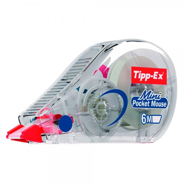 Tipp-Ex Korrekturroller Mini Pocket Mouse 5,0mm x 6m