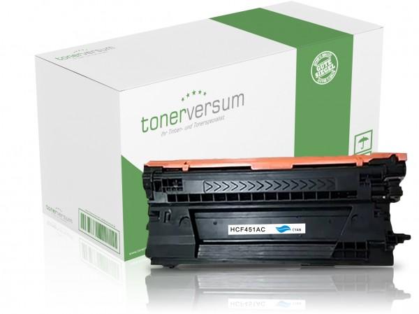 Alternativ zu HP CF451A / 655A Toner Cyan
