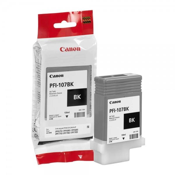 Canon PFI-107BK / 6705B001 Black Tintenpatrone