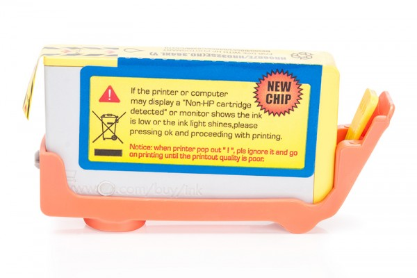 Alternativ zu HP 364 XL / CB325EE Tinte Yellow