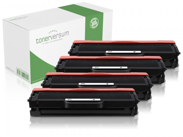 Alternativ zu Samsung MLT-D111S / SU810A Toner Black (4er Pack)