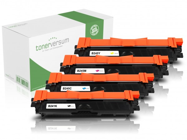 Alternativ zu Brother TN-241 / TN-245 Toner Multipack CMYK (4er Set)