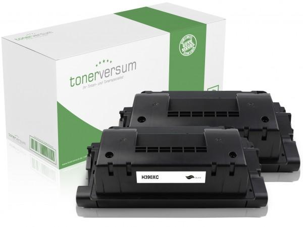 Alternativ zu HP CE390X / 90X Toner Black (2er Pack)