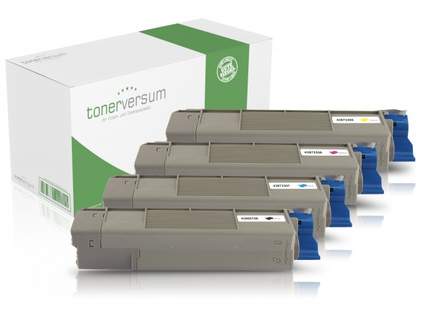 Alternativ zu C5650 / C5750 Toner Multipack CMYK