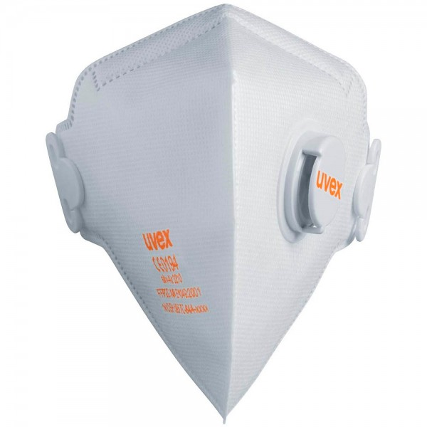 Uvex Atemschutzmaske silv-Air classic 3210 FFP2 CE 0194 (2er Pack)