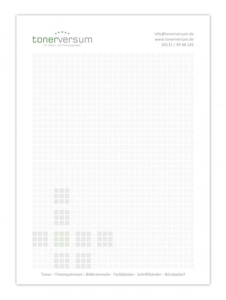Schreibblock Weiss DIN-A6 (80g/m²) 50 Blatt
