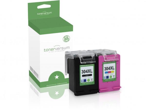 Alternativ zu HP 304 XL / 3JB05AE Tinten Multipack (1x Black / 1x Color)