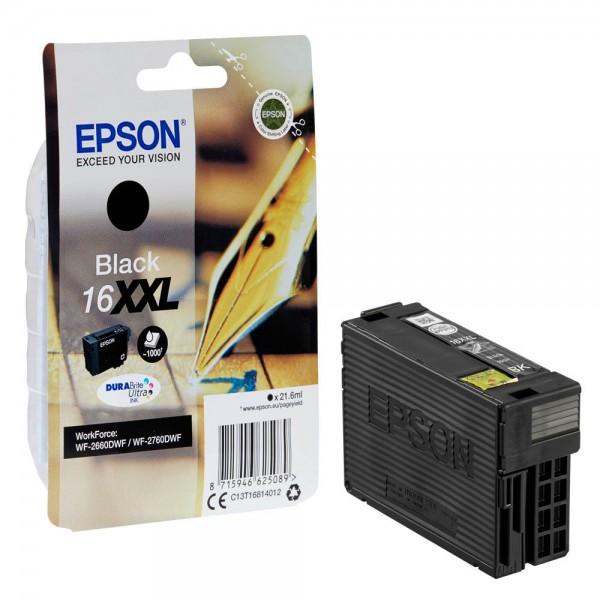 Epson 16 XXL / C13T16814012 Tinte Black