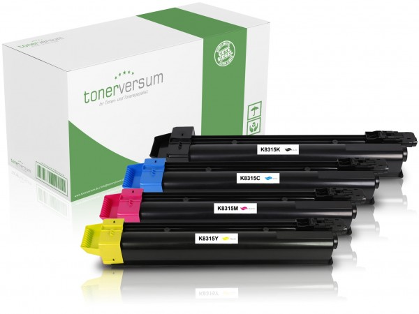 Alternativ zu Kyocera TK-8315 Toner Multipack CMYK (4er Set)