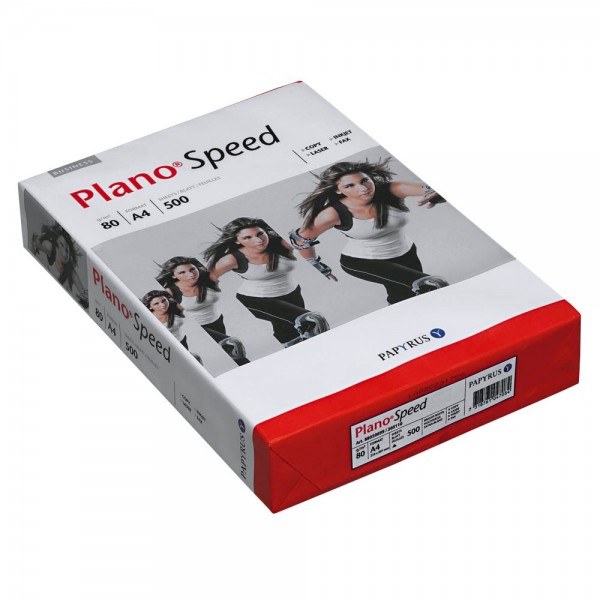 Plano Speed Kopierpapier DIN A4 (80 g/qm) 500 Blatt
