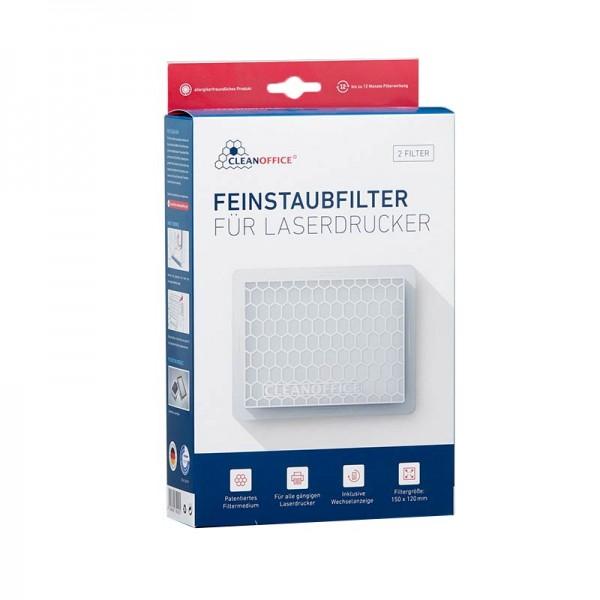 Cleanoffice Feinstaubfilter 8502050 weiß (2er Pack)