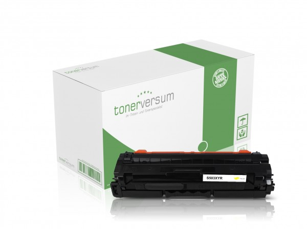 Alternativ zu Samsung CLT-Y503L / SU491A Toner Yellow