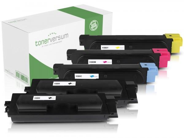 Alternativ zu Kyocera TK-580 Toner Multipack CMYK (5er Set)