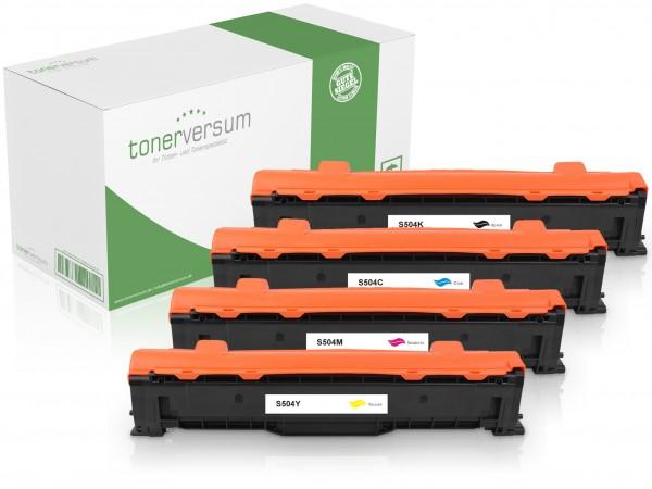Alternativ zu Samsung CLT-P504C / SU400A Toner Multipack CMYK (4er Set)